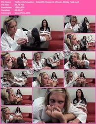 TheFootInfatuation.com TheFootInfatuation - Scientific Research of Lea's Stinky Feet Thumbnail